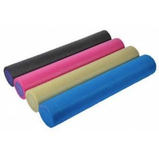 Валик для йоги PE 15*45 см пурпурный House Fit