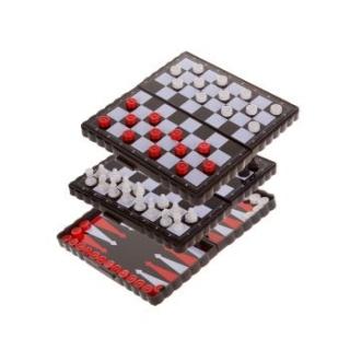 Набор игр 3 в 1 8813 (магнитные) 12*6 см.