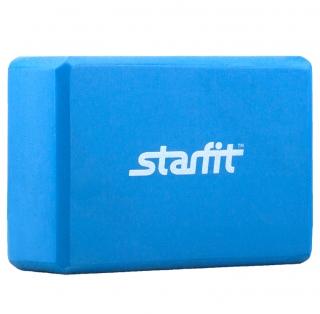 Блок для йоги STAR FIT FA-101 PVC синий УТ-00007216