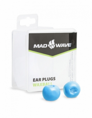 Беруши Mad Wave Waxball azure M0717 01 0 08W