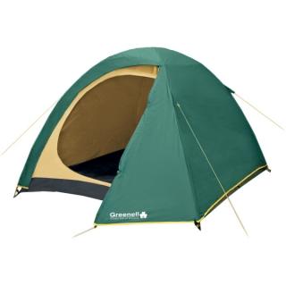 палатка туристическая Elf 4 зеленая 4 местная