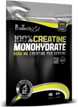BT 100% Creatine Monohydrate bag 500g