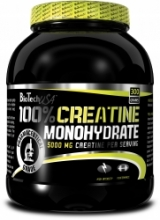 BT 100% Creatine Monohydrate jar 300g