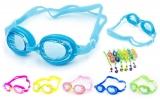 Очки для плавания SEALS (пластик, силикон, цвета в ассортименте)