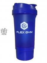 Shaker Flex Gym с контейнером (500 мл)
