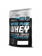 BioTech Nitro Pure Whey jar, 908gr, 2270gr, шоколад.