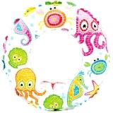 Надувной круг Lively Print Swim Rings, 51 см