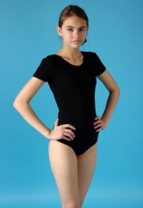 Костюм гимнастический ПА Мастер-класс Г28-011, короткий рукав