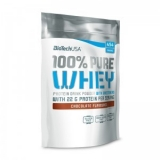 BioTech 100% Pure Whey jar (454 гр.), бурбон-ваниль