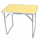 Стол кемпинговый складной, алюминий, МДФ, СНО-8815