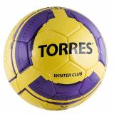Мяч футбольный №5 Torres Winter Club Yel