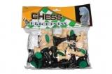 Фигуры шахматные пластиковые (арт. 3108)