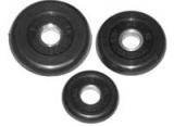 Диск обрезиненный d 26 mm черный 15 кг