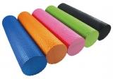 Валик для йоги HouseFit EVA 15x45см зеленый