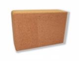 Блок для йоги пробковый HouseFit 1232-41