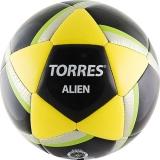 Мяч футбольный (размер 5) TORRES Alien Black F30305B