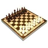 Шахматы деревянные (28х14х5см) Барон подарочные